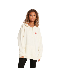Volcom WOMEN'S TRULY STOKED BF HOODIE Cloud