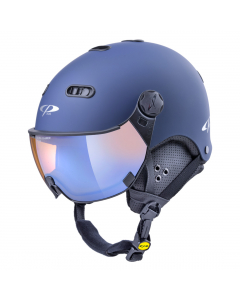 CP Visierhelm Carachillo dl vario br pol ice mirror maritime blue s.t./black