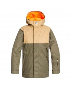 DC DEFY Youth Jacket EDBTJ03029-CRH0 OLIVE NIGHT