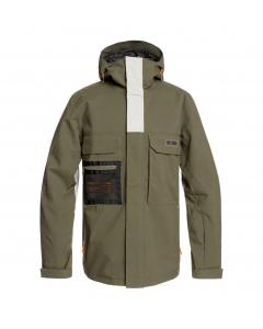 DC DEFIANT Jacket Mens EDYTJ03088-CRH0 OLIVE NIGHT
