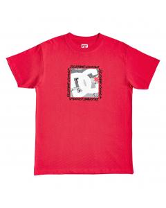 DC Mens BIG DC SQUARE TSS EDYZT04170-RQR0 RACING RED