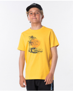 Rip Curl Kids COCHE SS TEE BOY WASHED YELLOW