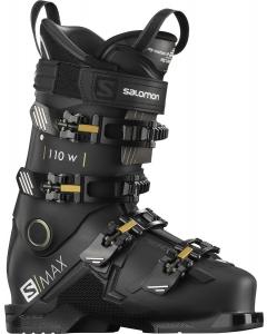 Salomon Ski Schuhe S/MAX 110 Women BLACK/Gold Glow/B