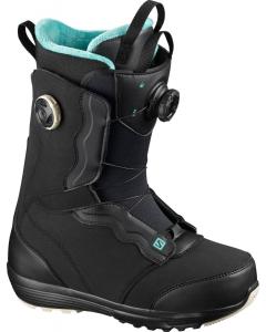 Salomon Snowboardboot IVY BOA SJ BOA Black Bk/Bk/Mea