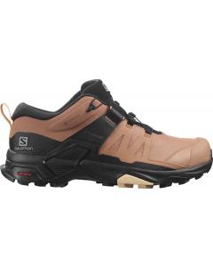 Salomon Schuhe X ULTRA 4 GTX W Mocha Mousse/Bla