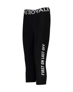 Mons Royale Womens Christy 3/4 Legging black
