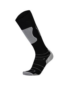 Mons Royale Womens Pro Lite Tech Sock Black/Grey