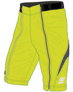 Energiapura New Wengen Color Short JR PC008X 6100 acid green