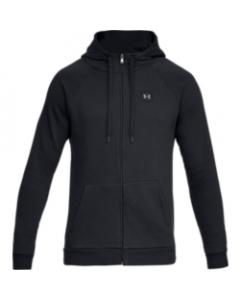 UA Men's Rival Fleece FZ 1320737-001 Black-Black