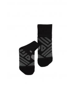 On Herren Low Sock Black   Shadow